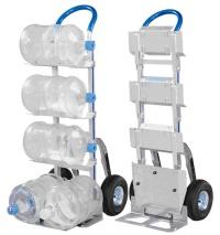 铝制载水桶手推车